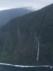 North Molokai waterfalls