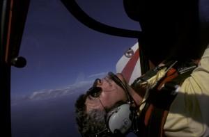 Aerobatics over the North Shore