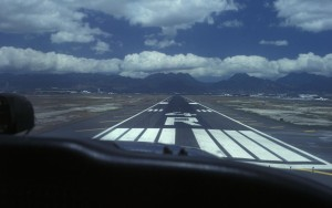 Short final to unway 4R at PHNL